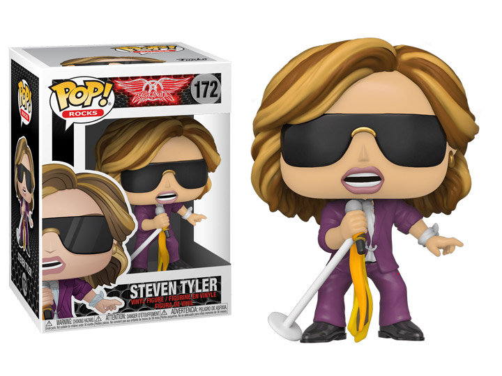 Pop! Rocks Aerosmith Vinyl Figure Steven Tyler #172