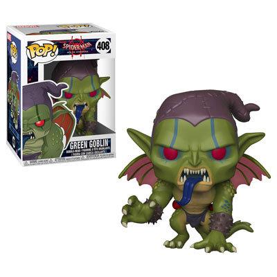 Pop! Marvel Spider-Man Into the Spider-Verse Vinyl Bobble-Head Green Goblin #408
