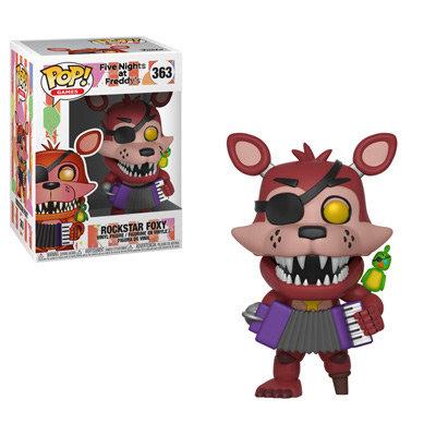 Pop! Games Five Nights at Freddy's Vinyl Figure Rockstar Foxy #363