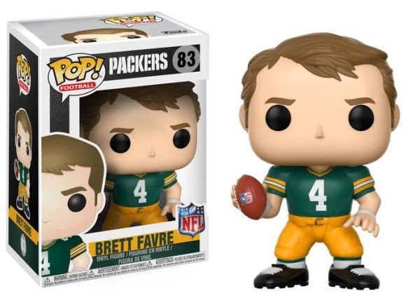 Pop! Football NFL Legends Vinyl Figure Brett Favre (Green Bay Packers) #83
