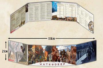 Dungeons & Dragons (5th Ed.): Waterdeep Dragon Heist DM Screen