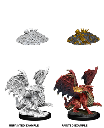 Dungeons & Dragons Nolzur's Marvelous Miniatures: Red Dragon Wyrmling