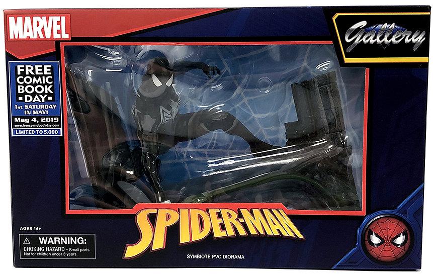 Diamond Select Marvel Gallery FCBD 2019 Spider-Man Symbiote PVC Statue Diorama