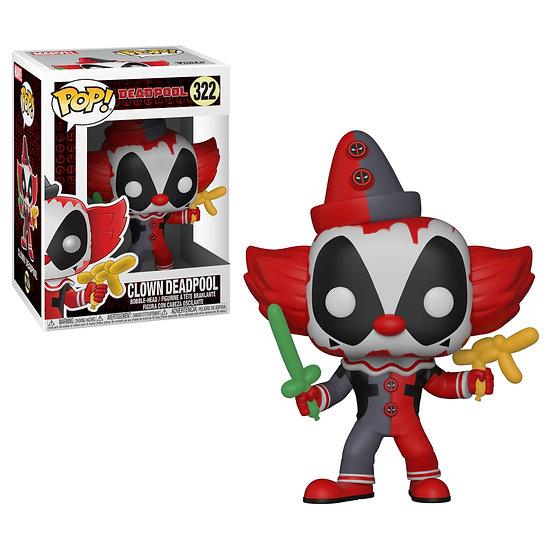 Pop! Marvel Deadpool Vinyl Bobble-Head Clown Deadpool #322