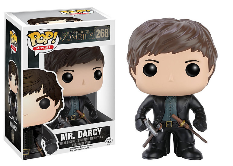 Pop! Movies Pride & Prejudice & Zombies Vinyl Figure Mr. Darcy #268 (Vaulted)