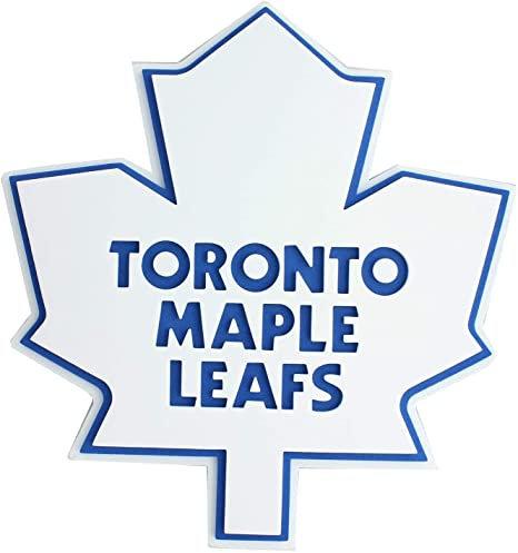 """NHL 3D Foam Logo 18"""" Wall Display Toronto Maple Leafs"""