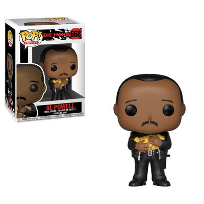 Pop! Movies Die Hard Vinyl Figure Al Powell #668
