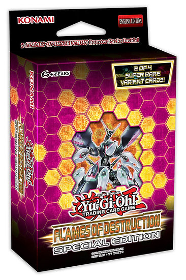YuGiOh Trading Card Game: Flames of Destruction Special Edition