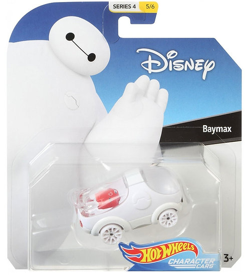 Disney Hot Wheels Character Cars Series 4 Baymax Die Cast Car