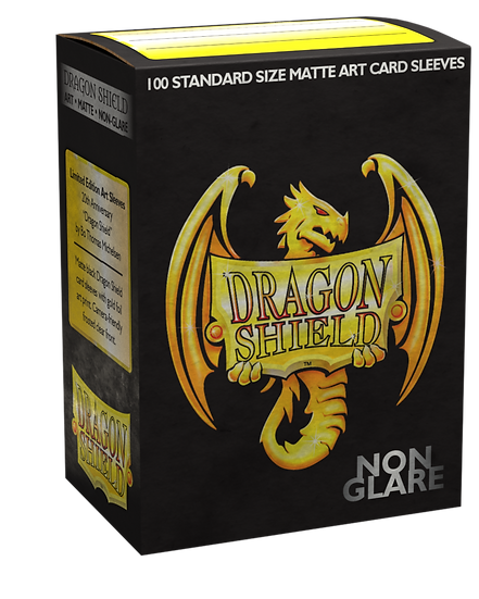 Dragon Shields: Matte Non-Glare Card Sleeves (100): Art 20th Anniversary Edition