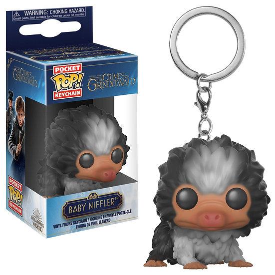 Fantastic Beast 2: Baby Niffler (Brown Multi) Pocket POP Key Chain by Funko