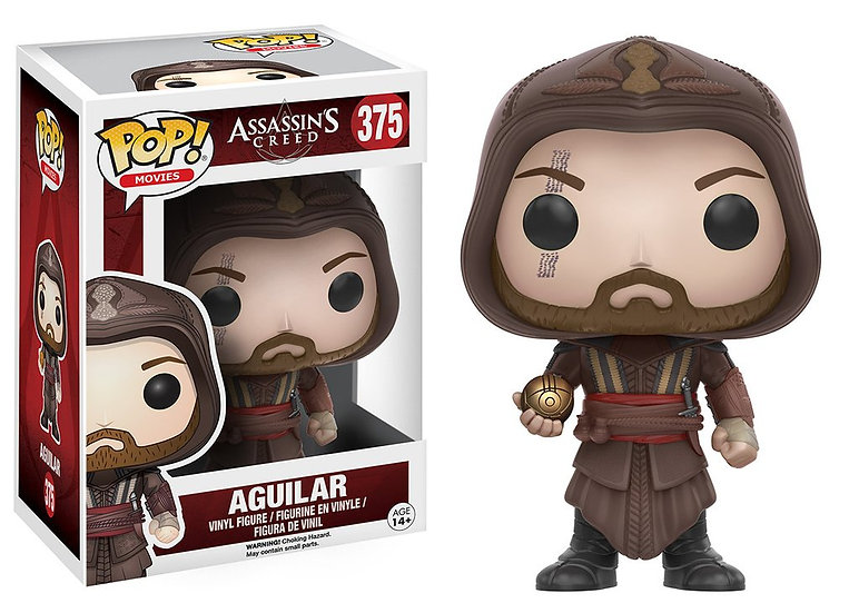 Pop! Movies Assassin's Creed Vinyl Figure Aguilar #375