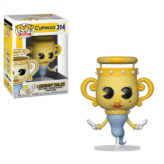 Pop! Games Cuphead Vinyl Figure Legendary Chalice #314