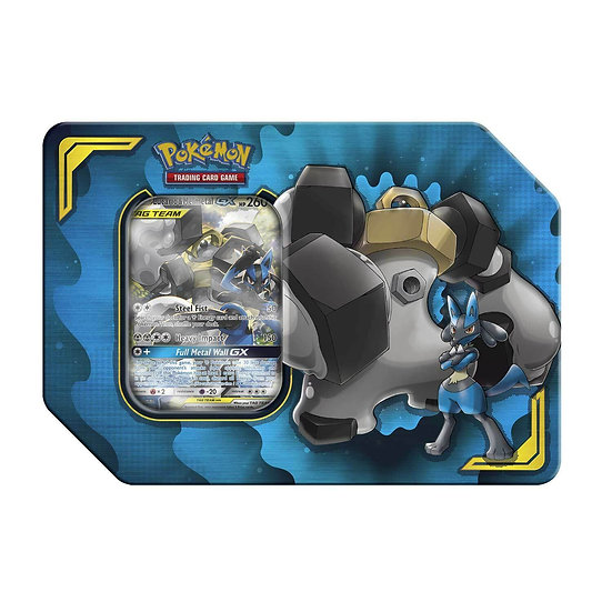 Pokemon TCG: Tag Team Lucario & Melmetal Tin