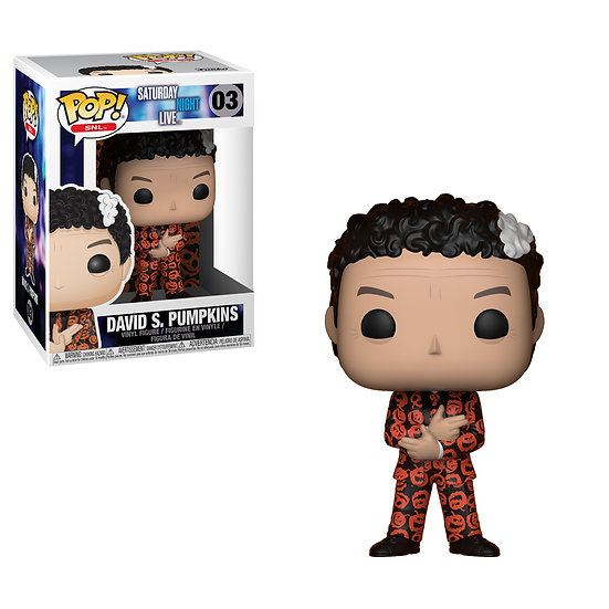 Pop! Television Saturday Night Live Vinyl Figure David S. Pumpkins #03