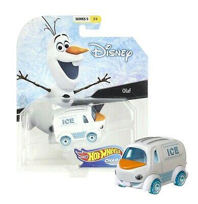 Disney Hot Wheels Character Cars Series 4 Olaf Die Cast Car