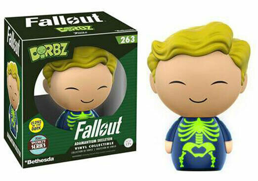Dorbz Fallout Skeleton glow In The Dark specialty Series #263