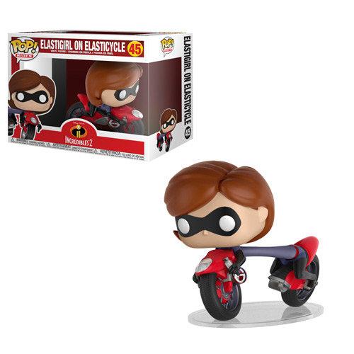 Pop! Rides Incredibles 2 Vinyl Figure Elastigirl with Elasticycle #45