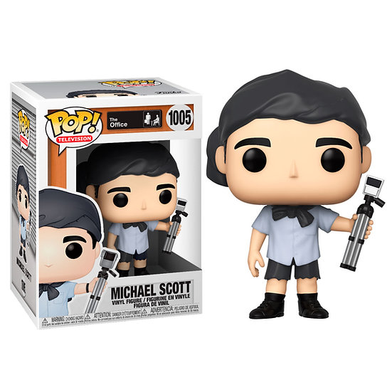 Pop! Television The Office Vinyl Figure Michael Scott (Survivor) #1005