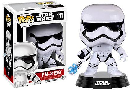 Pop! Star Wars The Force Awakens Vinyl Bobble-Head FN-2199 #111 (Vaulted)