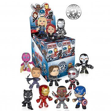 Funko Mystery Minis Marvel Captain America Civil War Blind Box