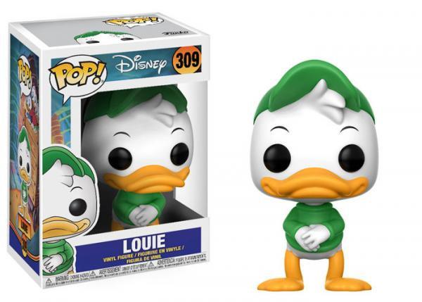 Pop! Disney Ducktales Vinyl Figure Louie #309 (Vaulted)