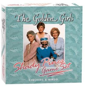 The Golden Girls Shady Pines Games Set