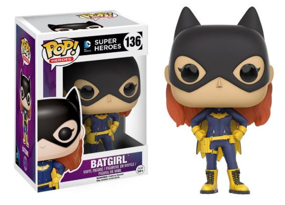 Pop! Heroes DC Vinyl Figure Batgirl 2016 #136 (Vaulted)