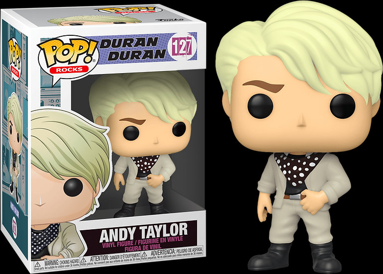 Pop! Rocks Duran Duran Vinyl Figure Andy Taylor #127