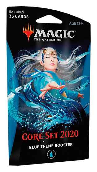 Magic the Gathering: Core Set 2020- Themed Boosters BLUE