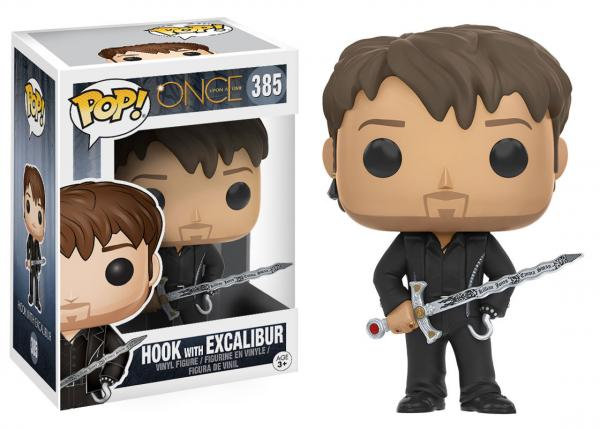 Pop! Television Once Upon a Time Vinyl Figure Hook with Excalibur #385 (Vaulted)