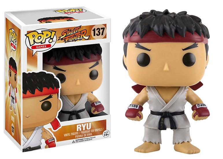 Pop! Games Street Fighter Vinyl Figure Ryu #137 (Vaulted)