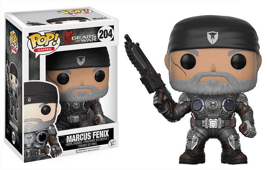 Pop! Games Gears of War Vinyl Figure Marcus Fenix Old Man #204 (Vaulted)