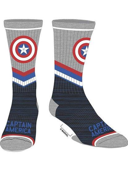 Avengers Captain America Crew Tube Socks 1 Pair