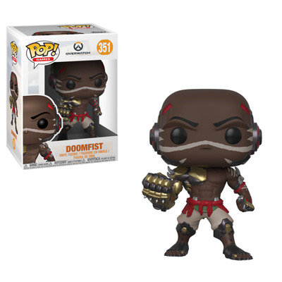 Pop! Games Overwatch Vinyl Figure Doomfist #351