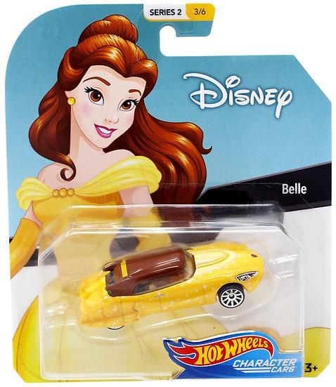 Disney Hot Wheels Character Cars Series 4 Belle Die Cast Car