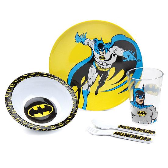 Bumkins DC Comics Batman Kids Dish Set