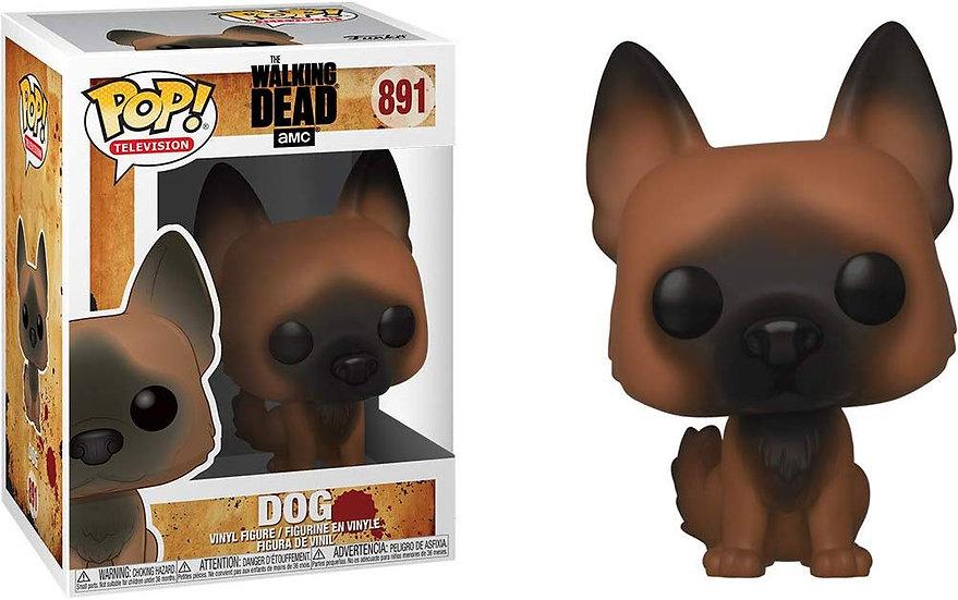 Pop! Television The Walking Dead Vinyl Figure Dog #891