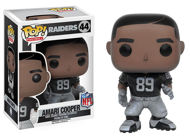 Pop! Football NFL Vinyl Figure Amari Cooper (Oakland Raiders) #44 (Vaulted)