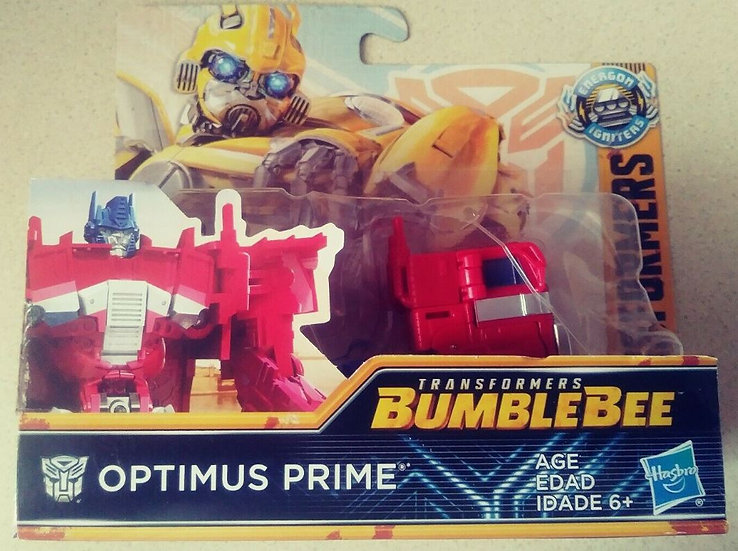 Transformers Bumblebee Movie Optimus Prime Energon Igniters