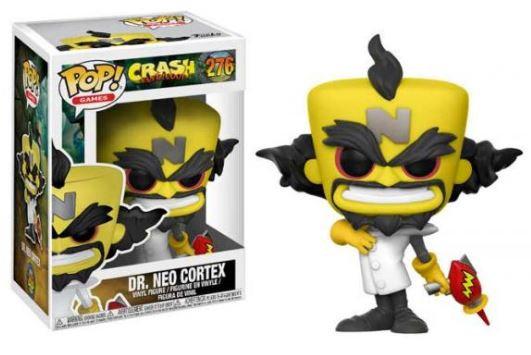 Pop! Games Crash Bandicoot Vinyl Figure Dr. Neo Cortex #276