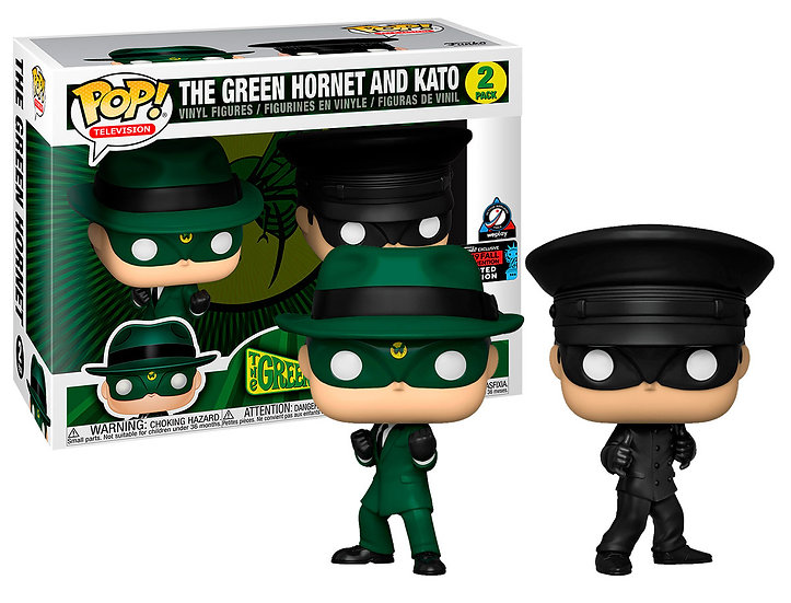 Pop! Television The Green Hornet Vinyl Figure The Green Hornet and Kato (2-Pack)
