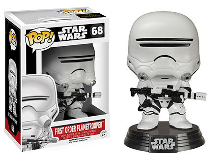 Pop! Star Wars The Force Awakens First Order FlameTrooper #68 (vaulted)