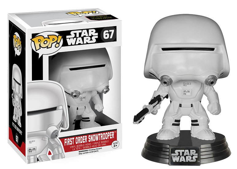 Pop! Star Wars The Force Awakens First Order Snowtrooper #67 (Vaulted)