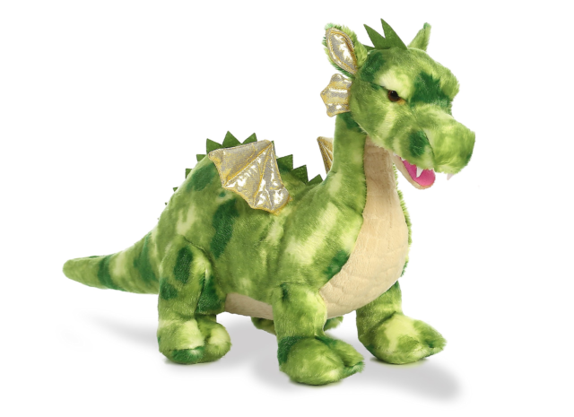 Aurora World Dragon Plush Vollenth The Green