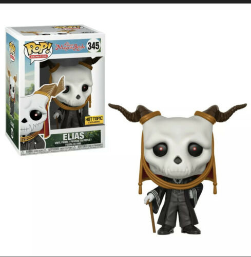 Funko Pop! #345 The Ancient Magus Bride Elias Hot Topic Exclusive! (Vaulted)