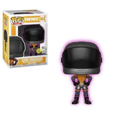 Pop! Games Fortnite Vinyl Figure Dark Vanguard #464 (Glows in the Dark)