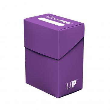 Ultra Pro Purple Deck Box For Collectible Cards