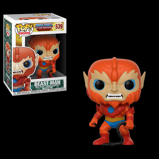 Pop! Television Masters of the Universe Vinyl Figure Beast Man #539 (Vaulted)