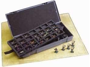 Figure Storage Box: 25mm 56 Compartments